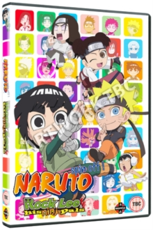 Naruto: Rock Lee and His Ninja Pals - Collection 1, DVD DVD