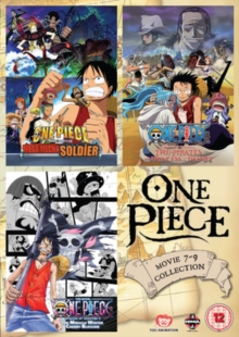 One Piece: Movie Collection 3, DVD