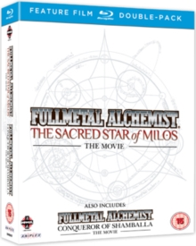 Full Metal Alchemist: The Movie 1 and 2, Blu-ray