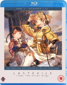 Last Exile - Fam, the Silver Wing: Part 1, Blu-ray