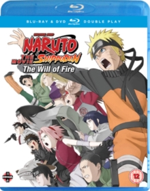 Naruto - Shippuden: The Movie 3 - Will of Fire, Blu-ray