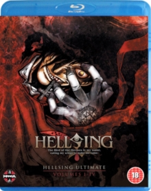 Hellsing Ultimate: Parts 1-4 Collection, Blu-ray