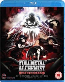 Full Metal Alchemist Brotherhood: Collection Two, Blu-ray