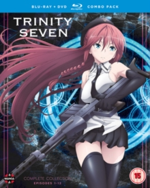 Trinity Seven: Complete Season Collection, Blu-ray
