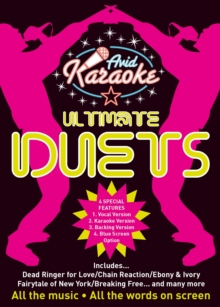 Ultimate Karaoke Duets, DVD