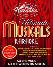 Ultimate Musicals Karaoke, DVD