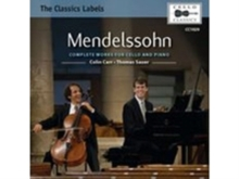 Mendelssohn: Complete Works for Cello and Piano, CD / Album