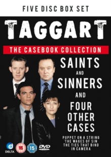 Taggart: Saints and Sinners and Four Other Cases, DVD