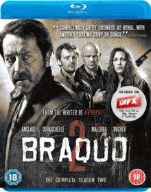 Braquo: The Complete Season Two, Blu-ray