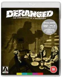 Deranged - The Confessions of a Necrophile, Blu-ray