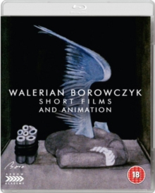 Walerian Borowczyk: Short Films and Animation, Blu-ray DVD