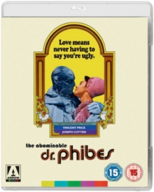 The Abominable Dr. Phibes, Blu-ray