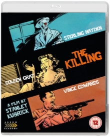 Killing/Killer's Kiss, Blu-ray