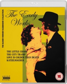 The Early Works of Rainer Werner Fassbinder, Blu-ray