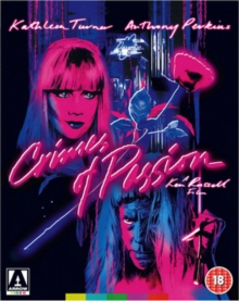 Crimes of Passion, Blu-ray