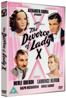 The Divorce of Lady X, DVD