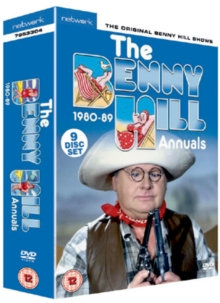 Benny Hill: The Benny Hill Annuals 1980-1989, DVD
