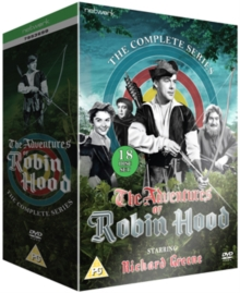 The Adventures of Robin Hood: The Complete Series, DVD