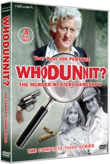 Whodunnit: The Complete Third Series, DVD  DVD