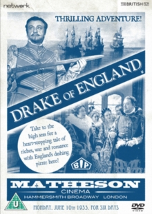 Drake of England, DVD  DVD