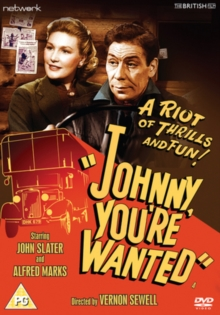 Johnny You're Wanted, DVD
