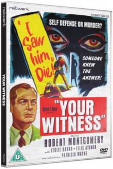 Your Witness, DVD