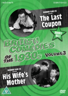 British Comedies of the 1930s: Volume 3, DVD