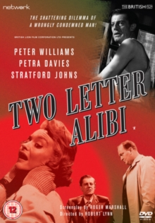 Two Letter Alibi, DVD