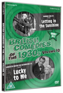 British Comedies of the 1930s: Volume 10, DVD
