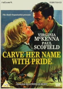 Carve Her Name With Pride, DVD DVD