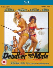 Deadlier Than the Male, Blu-ray