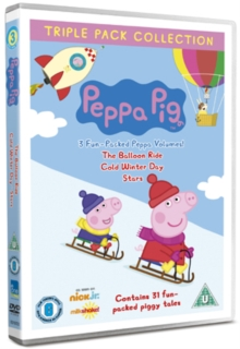 Peppa Pig: Balloon Ride/Cold Winter Day/Stars, DVD