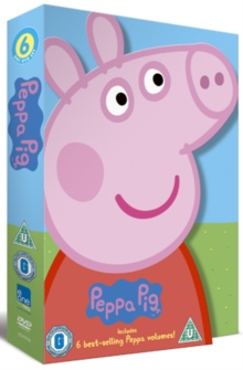 Peppa Pig: 6 Best-selling Peppa Volumes, DVD