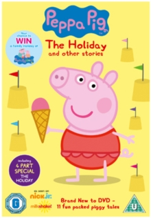 Peppa Pig: The Holiday and Other Stories, DVD