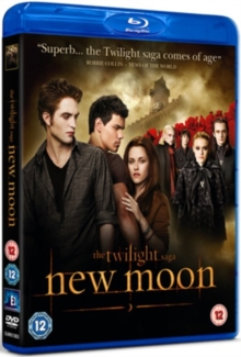 The Twilight Saga: New Moon, Blu-ray