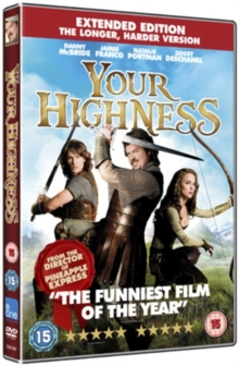 Your Highness: Extended Edition, DVD  DVD