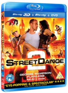 StreetDance 2, Blu-ray  BluRay