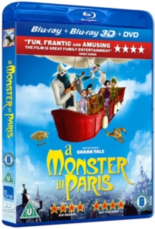 A   Monster in Paris, Blu-ray