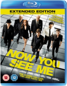 Now You See Me: Extended Edition, Blu-ray