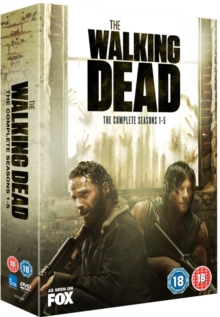 The Walking Dead: The Complete Seasons 1-5, DVD
