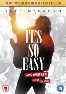 It's So Easy (And Other Lies), DVD