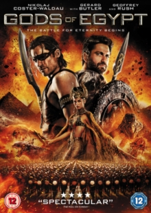 Gods of Egypt, DVD DVD