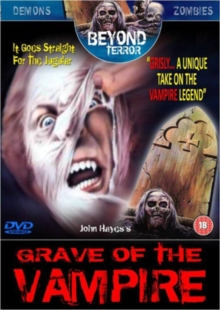 Grave of the Vampire, DVD