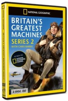 National Geographic: Britain's Greatest Machines - Series 2, DVD