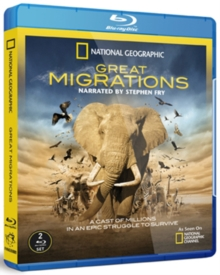 National Geographic: Great Migrations, Blu-ray  BluRay