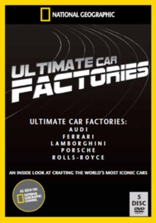 National Geographic: Ultimate Factories - Cars Collection, DVD