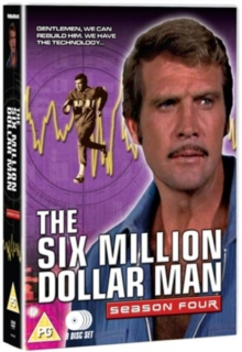 The Six Million Dollar Man: Series 4, DVD