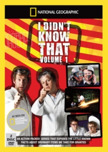 National Geographic: I Didn't Know That - Volume 1, DVD