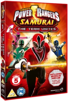 Power Rangers Samurai: Volume 1 - The Team Unites, DVD
