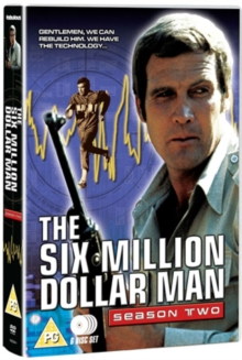 The Six Million Dollar Man: Series 2, DVD BluRay